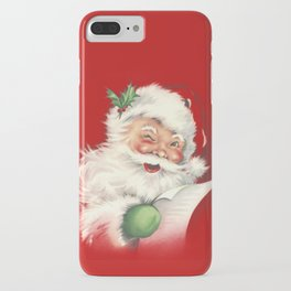 Vintage Santa iPhone Case