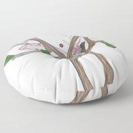 Flowing Magnolia Floor Pillow