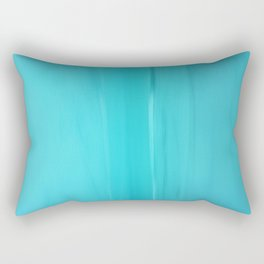 Abstract Turquoise Rectangular Pillow