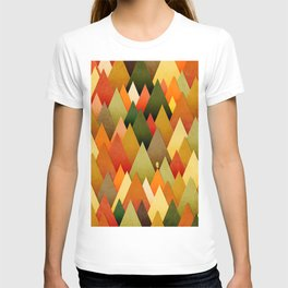 071 – deep into the autumn forest texture II T-shirt
