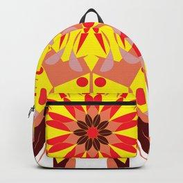 vintage sunflower mandala Backpack
