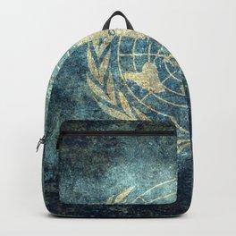 United Nations Flag - Vintage version Backpack