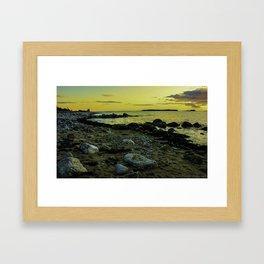 Sambro Sunset Framed Art Print
