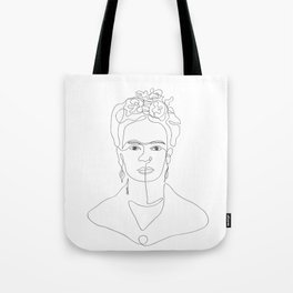 Doña Frida Kahlo Tote Bag