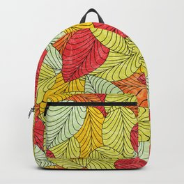 Let the Leaves Fall #10 Backpack
