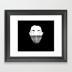 Stretching the Truth Framed Art Print