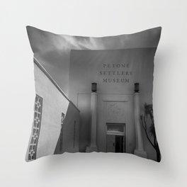 Petone Settlers Museum Throw Pillow