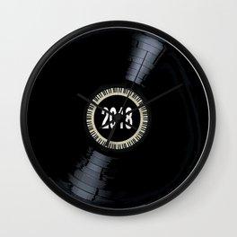 2018 Long Player Record Wall Clock