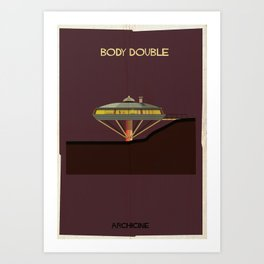Body Double  Directed by Brian De Palma Art Print