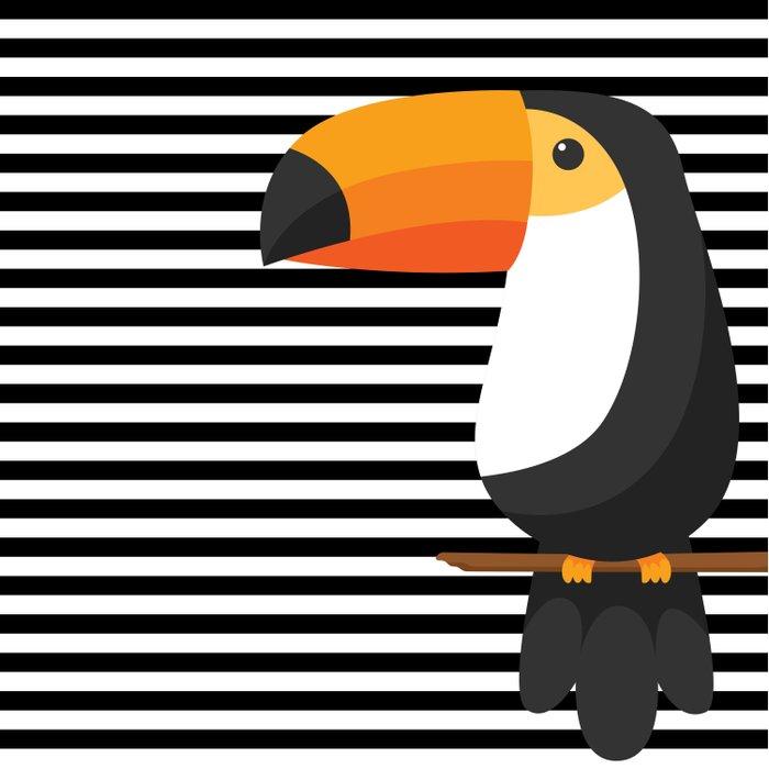 TOUCAN tropical toucans Duvet Cover