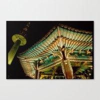 korea Canvas Prints featuring korea by iamkin