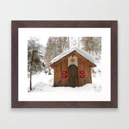 Häxe Huus Framed Art Print