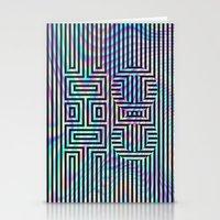 xoxo Stationery Cards featuring xoxo by Marta Olga Klara