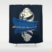 sailor moon Shower Curtains featuring Sailor Moon. by JCMaziu