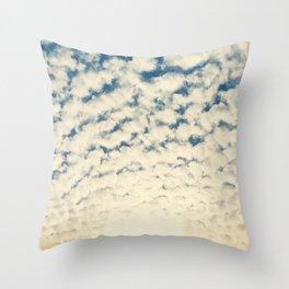 Clouds Effect Throw Pillow