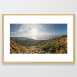 Koko Head Hawaii Sunrise Framed Art Print
