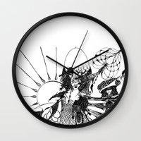 renaissance Wall Clocks featuring Renaissance by ioannart