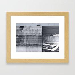 disruptions Framed Art Print