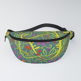 Dark Garden Gone Wild Fanny Pack