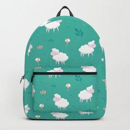 Calm sheep pattern Backpack