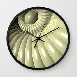 Shell of Repetition Wall Clock