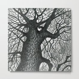 Massive Tree Metal Print