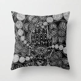 The Hand Throw Pillow