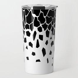 Black Fragments invert Travel Mug