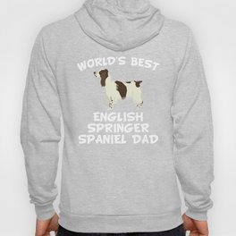 World's Best English Springer Spaniel Dad Hoody