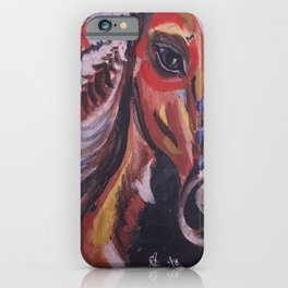 01PA06 | Tribal Horse | Artist Amiee iPhone Case