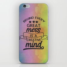 Creative Mind iPhone & iPod Skin