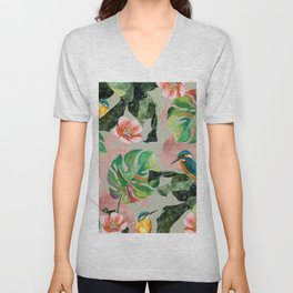 Bird Sanctuary Unisex V-Neck