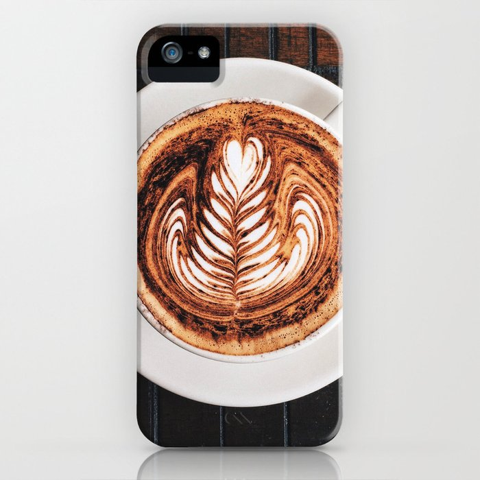 My Daily Coffee iPhone Case