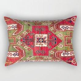 Sevan Kazak Southwest Caucasus Rug Print Rectangular Pillow