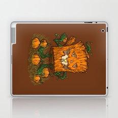 The Pumpkin Log Laptop & iPad Skin