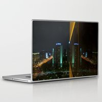 seoul Laptop & iPad Skins featuring Seoul Reflection by Anthony M. Davis