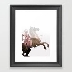 Defend the Castle Framed Art Print