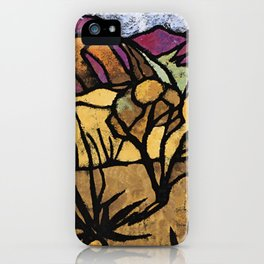 """""""A Mile Out of Alice Spings"""" Margaret Preston iPhone Case"""