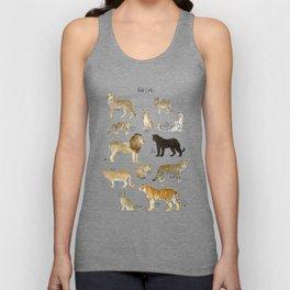 Wild Cats Unisex Tank Top