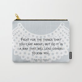 Fight, Lead - RBG (blue) *also in grey Carry-All Pouch