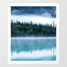 Foggy Tree #society6 Art Print