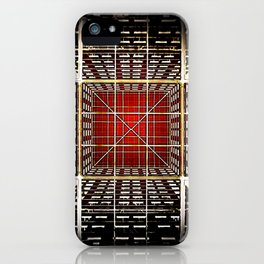The Inner World of the Organized Mind iPhone Case
