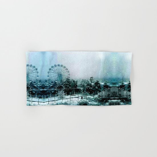 Cold Forest Playground Hand & Bath Towel