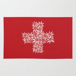 Swiss Edelweiss Rug