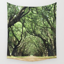 Canopy of Oaks Wall Tapestry