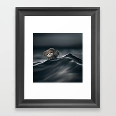 Riding The Waves Framed Art Print