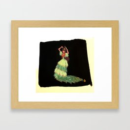 Flamenca! Framed Art Print