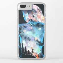 The Feeling of Being Clear iPhone Case