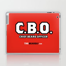 CHEIF BEARD OFFICER  Laptop & iPad Skin
