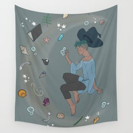 Sea Witch Baubles Wall Tapestry